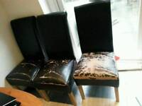 Dining chairs x4 FREE