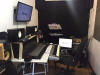Recording studio only £10/hour in Hackney