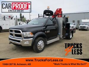 2015 Dodge RAM 5500 SLT 4X4, PICKER TRUCK