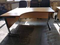 Office furnitre. Desks drawers chairs. Open to offers