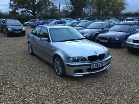 2004 BMW 320i Sport Auto 1 Years MOT Service History Sunroof Cheap Car