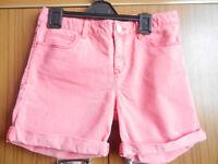 Girl's Gap Shorts- Dark Pink