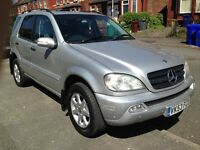 Mercedes ML 270 2.7Cdi Diesel SUV Silver Automatic Navigation Full MOT HPI Clear Service History
