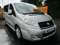 08 FIAT SCUDO PANORAMA FAMILY 2.0 120 M-JET SWB DISABLED RAMP ACCESS SLIDING DOORS 6-SPD SH PX SWAPS