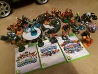 Sky landers massive bundle Xbox 360