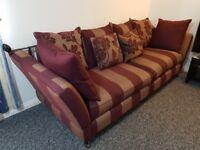 Four seater sofa