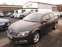 Volkswagen Passat 2.0 TDI BLUEMOTION TECH S 4dr + FULL SERVICE HISTORY (grey) 2011