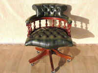 Directors Leather Captains chair (Delivery)