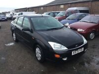 FORD FOCUS DIESEL RARE WITH A PROPER BOOT IN BLACK LOVELY DRIVER CLOTH TRIM GHIA MODEL WITH EXTRAS