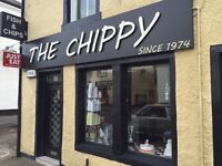 Experienced Counter Assistant Required for a busy Fish and Chip Shop