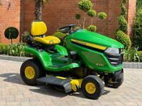 """John Deere X350 Ride on mower - 42"""" deck - lawnmower - Honda / Kubota / Toro"""