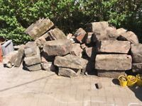 Large rockery/garden stone