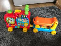 Baby alphabet train