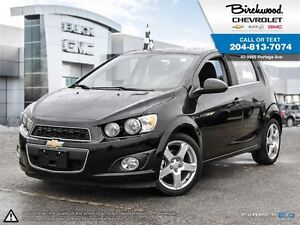 2016 Chevrolet Sonic LT SUNROOF   MYLINK   LOW KMs