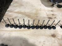 RB26/RB30 factory valves, springs and retainers