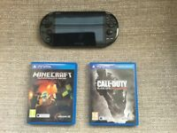 Black PS Vita