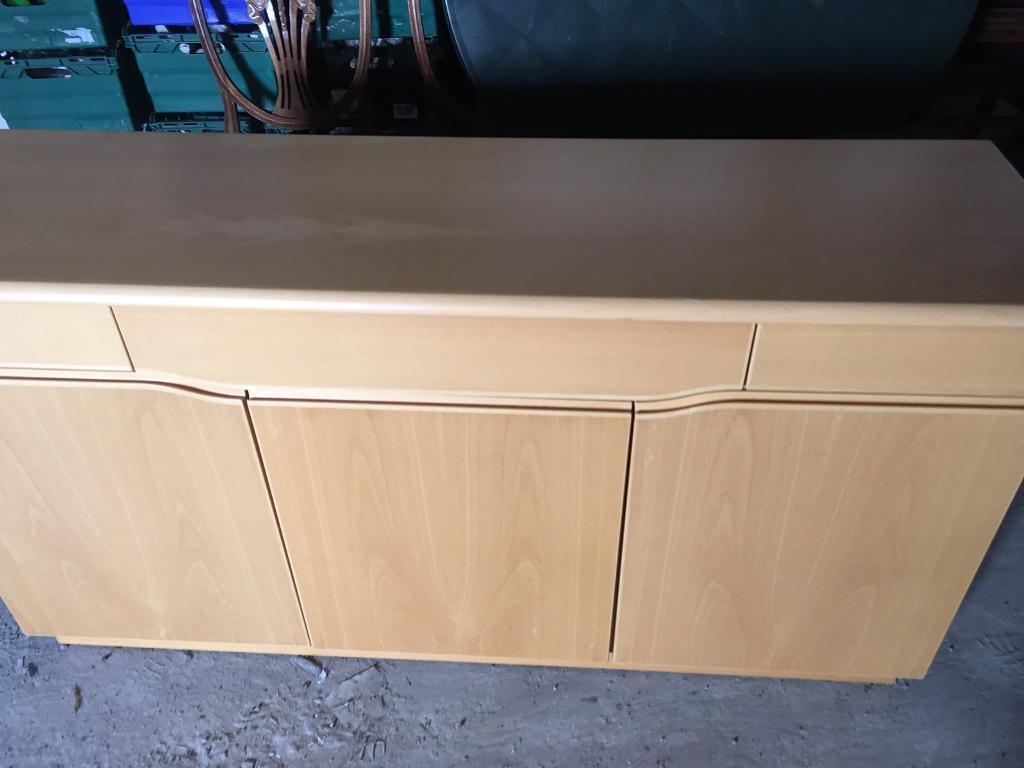 Beech skovby sideboard