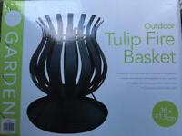 Tulip fire pit / basket price now £10