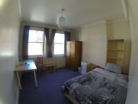 Bright double room in West Hampstead flatshare