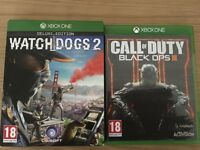 Watch dog 2 and black ops 3