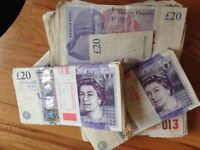 £140 MINIMUM PAID CASH WITHIN THE HOUR
