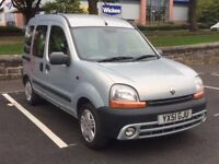 2001 RENAULT KANGOO 1.4 PETROL AUTOMATIC * WHEEL CHAIR ADAPTED * PART EX * DELIVERY * 1 YEAR MOT