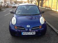 NISSAN MICRA 1.2 WITH MOT AND TAX QUICK SALE