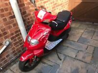 125cc TGB moped 62 reg