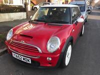 MINI COOPER S 1.6 works R53 fully loaded leather , exhaust..