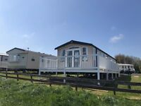 Luxury caravan with Sea view & decking for sale, Berwick holiday park, Berwick holiday park