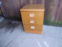 Bedroom 3 Drawers Set Delivery Available
