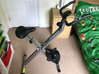 Folding Spin Exercise Bike Fitness