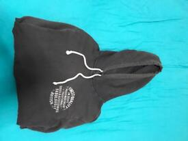 Jack Wills Black Hoodie - Size Medium