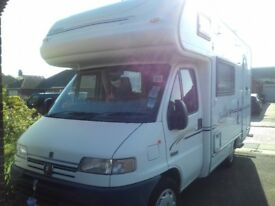 Eldiss Sunseeker 35 5 berth Motor home with 30,289 miles on clock :)