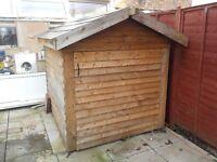 garden shed, bike safe quadbike