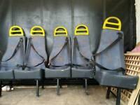 Van /Minibus Single or twin Belted seats.
