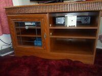 tv cabinet in teak