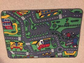 Child town play mat