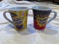 2x Cadbury Novelty Mugs - Never Used