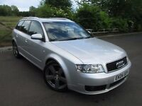Audi A4 Avant 1.8 T S Line 5dr 2004/04 FULL SERVICE HISTORY