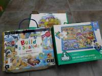 3 Jigsaw games (ELC and M&S)