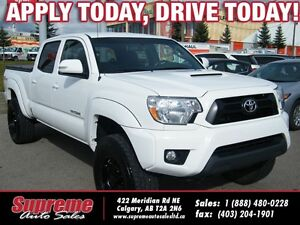 2015 Toyota Tacoma 4.0L V6 B.CAM/H.SEATS/LIFTED/T.COVER