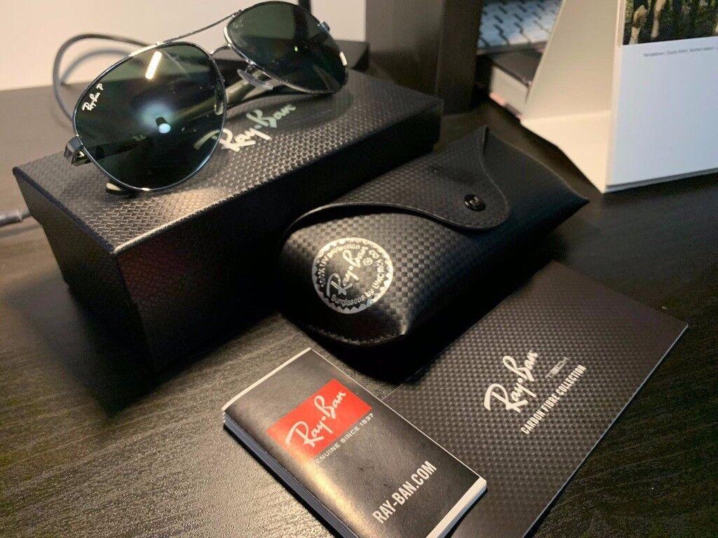 02463c3405fa9e Ray-Ban 8313 Polarised Carbon Fibre Sunglasses   in County Antrim ...