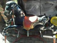 Mobo Praire rocking horse 1940s/50s
