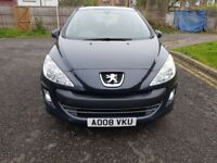2008 Peugeot 308 1.6 HDi S 5dr Manual Low Mileage 30£RoadTax @07445775115 30£+TAX+Low+Miles+Warranty