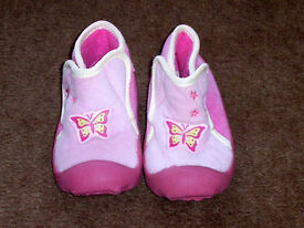 Pink Butterfly Slippers