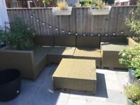 Fantastic quality all weather multiway seating set
