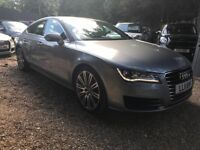 Audi A7 3.0 TDI SE Sportback 5dr£13,495 p/x welcome HPI CLEAR, AMAZING CONDITION