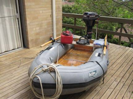 Inflatable and 9.9 HP Outboard Chatswood Willoughby Area Preview