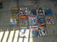 Marvel annuals